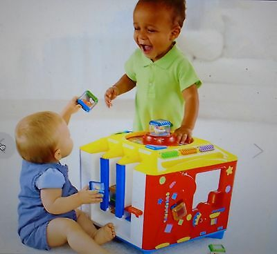New  Fisher  Price  Incrediblock  Activity  Center  With  8 Original/interactive