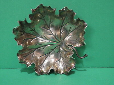 """Buccellati Sterling 925 Small Leaf Dish 3"""" Italy"""