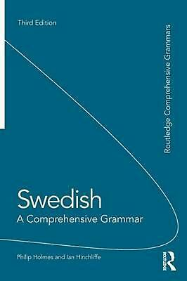 Swedish: A Comprehensive Grammar by Philip Holmes (English) Paperback Book Free
