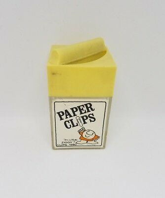 vintage Ziggy paper clip container
