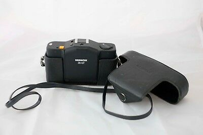 Minox 35 GT with original leather bag and battery adapter
