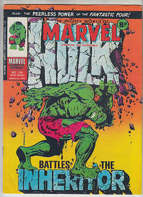 Mighty World Of Marvel, The #129 Fn++ 6.75