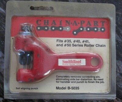 "New ""SMITH TOOL"" Model B-5035 CHAIN-A-PART Chain Breaker for Motorcycles, etc"