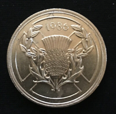 1986 Scotland 2 pound Coin