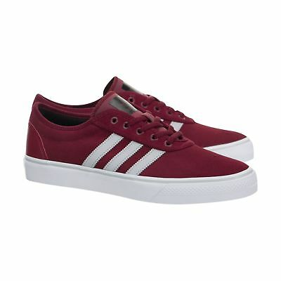best service 4268b a23e6 Adidas Adi-Easy Low Suede Sneakers Men Shoes Burgundywhite Bb8477 Size 11  New