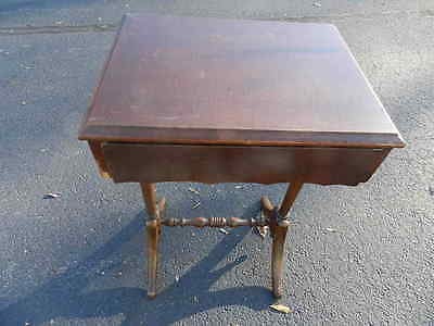 Vintage Paine Furniture Company Boston Mass End Side Table Antique