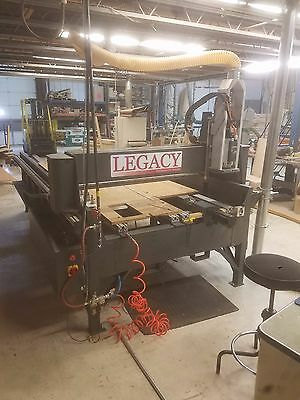 Legacy Woodworking Artisan II 4x10 CNC Hybrid 5 Axis Router