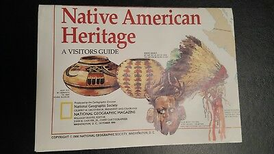 National Geographic supplement  Mag -native american heritage   - free post