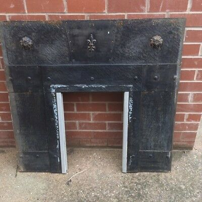 Arts and Crafts Fireplace Insert