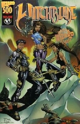 Witchblade #500 Wizard Special Edition Gold Foil NO COA Top Cow NM