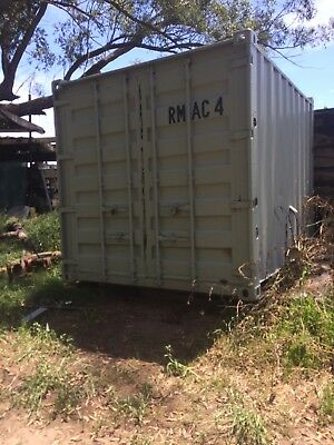 insulated 10foot container office Unimog camper military