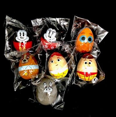 Disney Parks Easter Egg Eggstravaganza Limited Edition Character Eggs Set Of 7