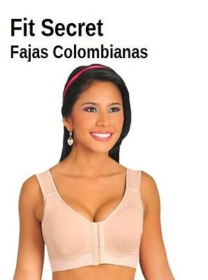 a7341395fa0e9 Fajas Colombianas Dprada Post Surgical Sleeve    Bra   Brasier Post  Quirurgico