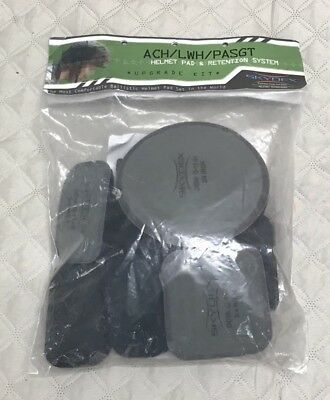 "New Skydex Helmet Complete Upgrade Kit Usgi For Most Helmets Pad Set 3/4"" Size 6"