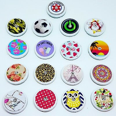 Freestyle libre sensor stickers 10 of your choice. 17 designs to choose from.