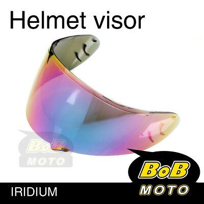 Iridium Tinted Shield Helmet Visor Fit GT AIR Shoei Neotec GT-Air