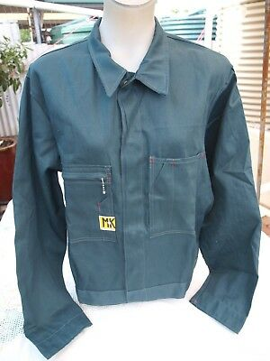 MASTAKRAFT CLOTHING COMPANY MADE IN Sth Aust FUNKY MEN'S GREEN COTTON JACKET.