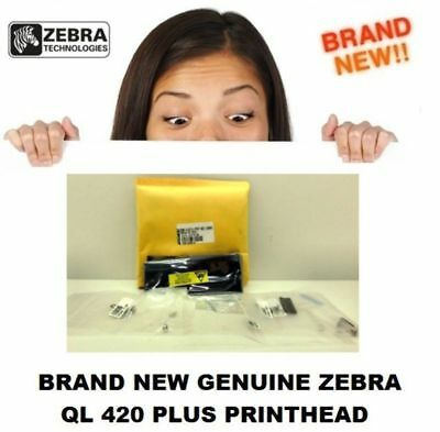 New Genuine Zebra RK17735-004 Thermal Printhead Assembly 203DPI QL420 QL420+