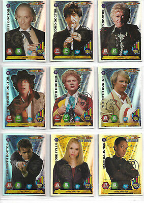 Doctor Who Alien Armies Near Complete Embossed Foil E1 - E20 Card Set - PANINI