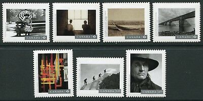 Weeda Canada 2904i-2910i VF NH Die cut 2016 Photography set of 7, Annual Coll.