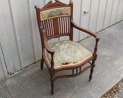 Antique Parlour Chair, Buckley & Nunn, Can Deliver