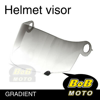 Gradient Tinted Shield Helmet Visor Fit Suomy Excel Ultra Tech Spec 1R Extreme