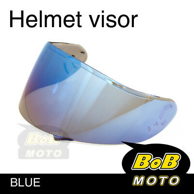 Blue Tinted Shield Helmet Visor Fit GT AIR Shoei Neotec GT-Air