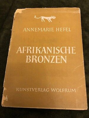 "Vintage 1948 book on African Bronze Sculptures ""Afrikanische Bronzen"" great pix"