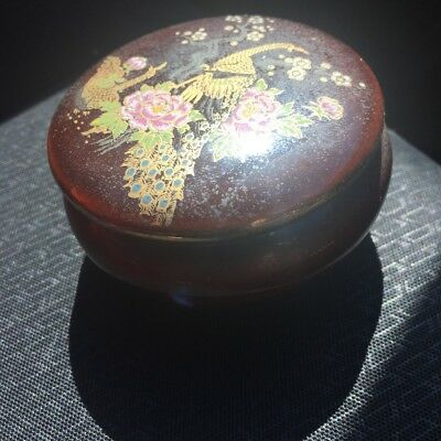japan painted porcelain pot
