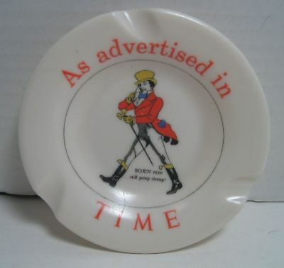 RARE vintage JOHNNY WALKER Ashtray As advertised in Time Ornamin