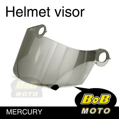 Mercury Tinted Shield Helmet Visor Fit Suomy Excel Ultra Tech Spec 1R Extreme