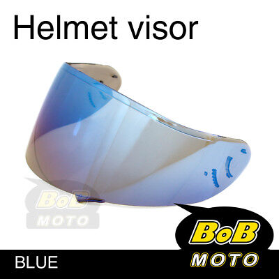Blue Tinted Shield Helmet Visor Fit Shoei X-SPIRIT 2 X-12 XR-1100 RF-1100