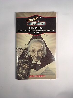 Doctor Who - The Aztecs (John Lucarotti) 1992 Virgin Reprint Paperback