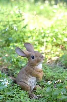 Rabbit Standing New Large Life-Like Realistic Home Garden Decor Figurine Statue