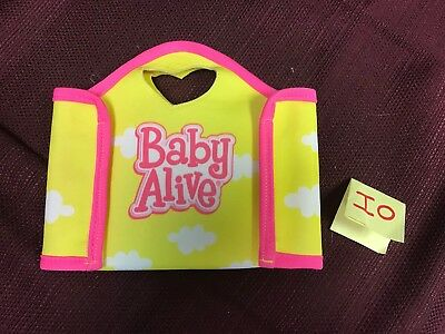 Baby Alive Diaper Bag Unfolding Changing Pad Accessories
