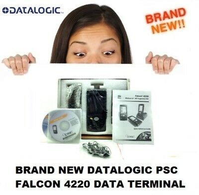 Brand New Datalogic PSC Falcoln 4220-1000 PDA Wireless Data Terminal