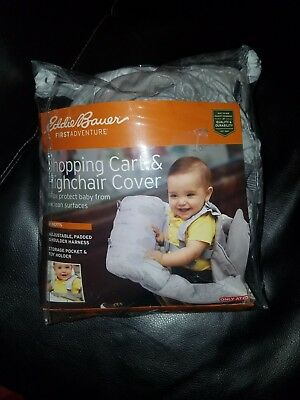 Eddie Bauer Baby Shopping Cart Cover With Owl