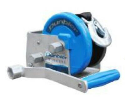 Dunbier Two Speed 5:1/1:1 Ratio Capacity 700kgs With Handle Winch and Strap