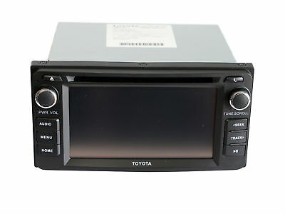 Genuine Toyota 6 inch Touch Screen Bluetooth USB AUX Rev Camera Stereo CD player