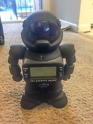 The sharper image digital coin counting robot bank