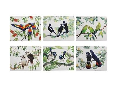 Maxwell & Williams Birdsong Placemats and Coasters (12 items) RRP $51.90