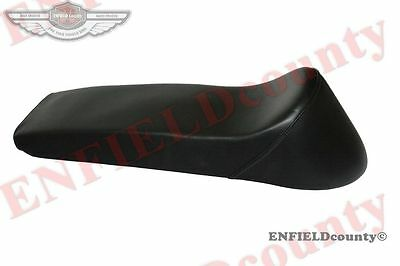 NEW FAUX LEATHER LAMBRETTA ANCILLOTTI STYLE BLACK SEAT LI SX GP Sitzbank @AUS