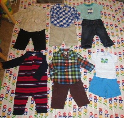 Lot Of 20 Baby Boy Clothes 12 Mos In Great Condition 39 00