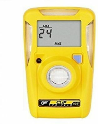 New 2018 Bw Technologies H2S Clip Single Gas Monitor Bwc2-H Hydrogen Sulfide 2Yr