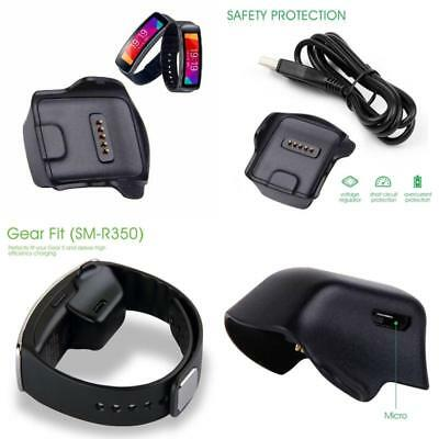 Samsung Gear Fit R350 Charger Cradle Premium Charging Cable Dock Replacement Usb