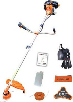52cc Petrol Grass Strimmer / Brush Cutter / Trimmer - 2.2KW 3HP By ParkerBrand