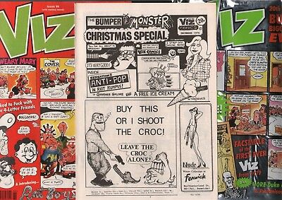 VIZ COMIC  ISSUE 99 WITH FREE FACSIMILE OF ISSUE No 1 IN ORIGINAL FOIL COVER