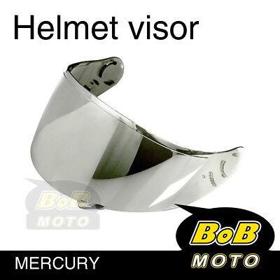 Mercury Tinted Shield Helmet Visor Fit Shoei X-SPIRIT 2 Qwest X-Twelve