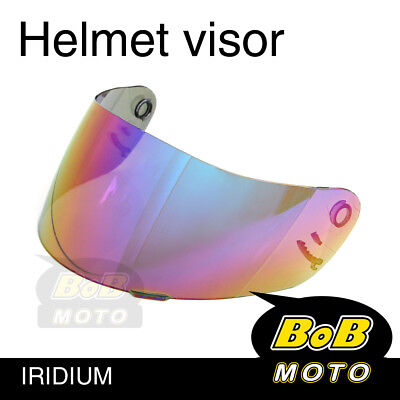 Iridium Tinted Shield Helmet Visor Fit Shoei Multitec X-Eleven RAID 2 II TZ-R