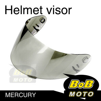 Chrome Tinted Shield Helmet Visor Fit Shoei Multitec X-Eleven RAID 2 II TZ-R